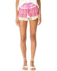 Cool Change - Multicolor Babe Shorts - Lyst