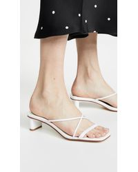 Jeffrey Campbell White Mural Lo 2 Slides