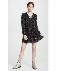 Anine Bing Black Martha Dress