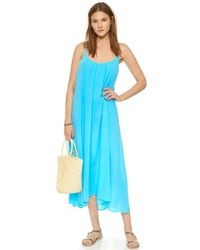 9seed - Blue Tulum Cover Up Dress - Lyst