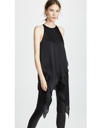 Gareth Pugh Black Crossover Top