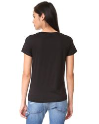 Vince - Black Boy Tee - Lyst