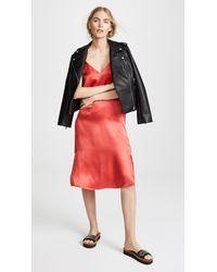 Anine Bing - Red Gemma Slip Dress - Lyst