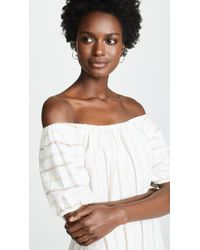 Ace & Jig White Quince Dress