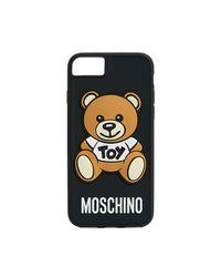 Moschino - Black Bear Iphone 7 / 8 Case - Lyst