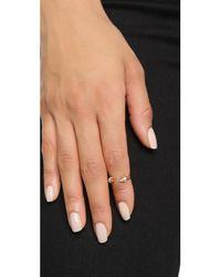 Vita Fede Pink Crystal Ultra Mini Titan Ring