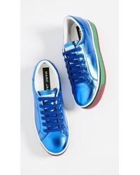 Marc Jacobs - Blue Empire Multicolor Sole Sneakers - Lyst