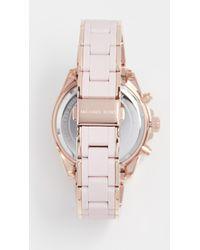 Michael Kors - Pink Bradshaw Watch, 38mm - Lyst