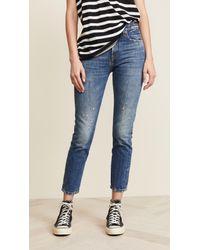 R13 Blue Milf Jeans