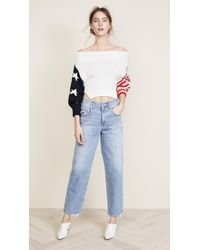 Monse - Multicolor Stars & Stripes Sweater - Lyst