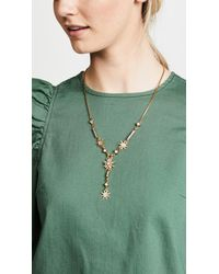 Elizabeth Cole - Metallic Haimi Necklace - Lyst