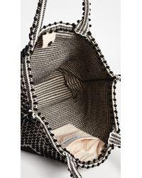 Antonello - Black Large Capriccioli Rombi Tote - Lyst