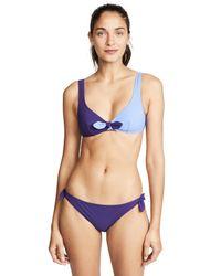 Morgan Lane Blue Tina Bikini