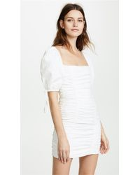 Ronny Kobo White Galina Dress