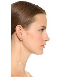 Jennifer Zeuner - Metallic Laine Earrings - Lyst