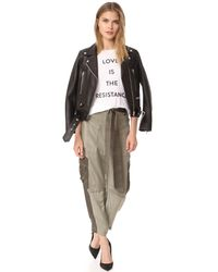 Prabal Gurung - White Love Is The Resistance Tee - Lyst