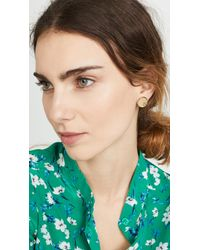 Tory Burch Metallic Kira Stud Earrings