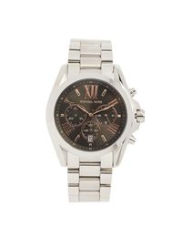 Michael Kors Metallic Collection Icon Bradshaw Watch, 45mm