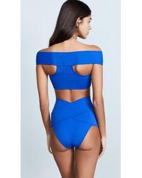 OYE Swimwear Blue Lucette Bikini