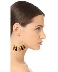 Chan Luu | Multicolor Hoop Earrings | Lyst