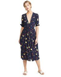 Capulet Blue Adele Midi Dress