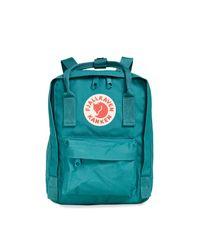 Fjallraven Blue Kanken Mini Backpack