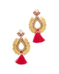 Deepa Gurnani - Metallic Deepa By Lieu Earrings - Lyst