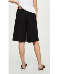 Vince Black Pull On Shorts