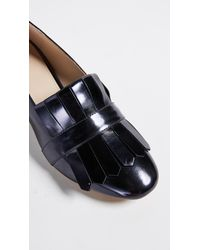 Botkier - Blue Olive Heeled Loafers - Lyst