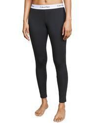 Calvin Klein Gray Modern Pajama Pants