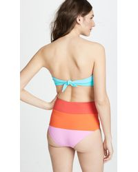 Mara Hoffman - Multicolor Sunrise Colorblock Abigail Top - Lyst