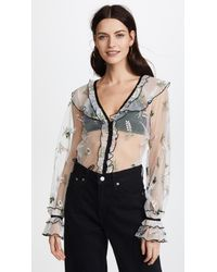 Alice McCALL Multicolor Time Stands Still Blouse