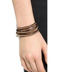 Vita Fede - Pink Capri 5 Wrap Bracelet - Lyst