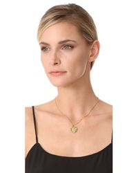 Kenneth Jay Lane - Metallic Coin Pendant Necklace - Lyst