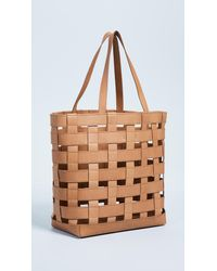 Madewell Natural Woven Transport Tote Bag