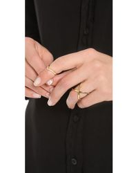 Elizabeth and James Metallic Windrose Ring
