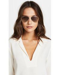 Ray-Ban Metallic Matte Classic Aviator Sunglasses
