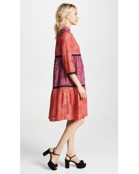 Warm - Red August Dress - Lyst