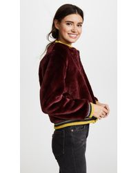 Barber - Multicolor Donica Bomber Jacket - Lyst