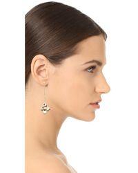 Elizabeth and James - Metallic Halona Earrings - Lyst