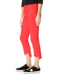 Lanston - Red High Low Pants - Lyst
