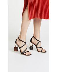 Jacquemus Black Les Samba Sandals