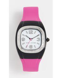 Marc Jacobs Pink New Platform Watch, 36mm