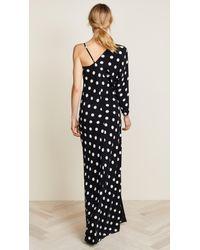 Michelle Mason - Black One Sleeve Gown - Lyst