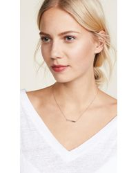 Jennifer Meyer Pink Jet'aime Necklace
