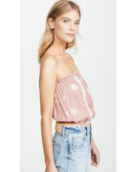 Cool Change Pink Floating Lilly Sydney Top