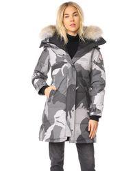 Canada Goose - Gray Shelburne Parka - Lyst