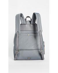 Rebecca Minkoff Gray Always On Mab Backpack