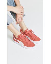 PUMA - Multicolor Suede Classic Sneakers - Lyst