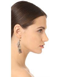 Chan Luu - Multicolor Chain Tassel Earrings - Lyst